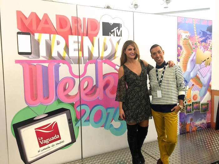 MadridMTVTrendyWeek2015 #mtvLaVaguada #mtvspain Amarás la moda Paula Fraile Talleres MTV2