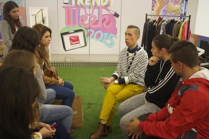 MadridMTVTrendyWeek2015 #mtvLaVaguada #mtvspain Amarás la moda Paula Fraile Talleres MTV4