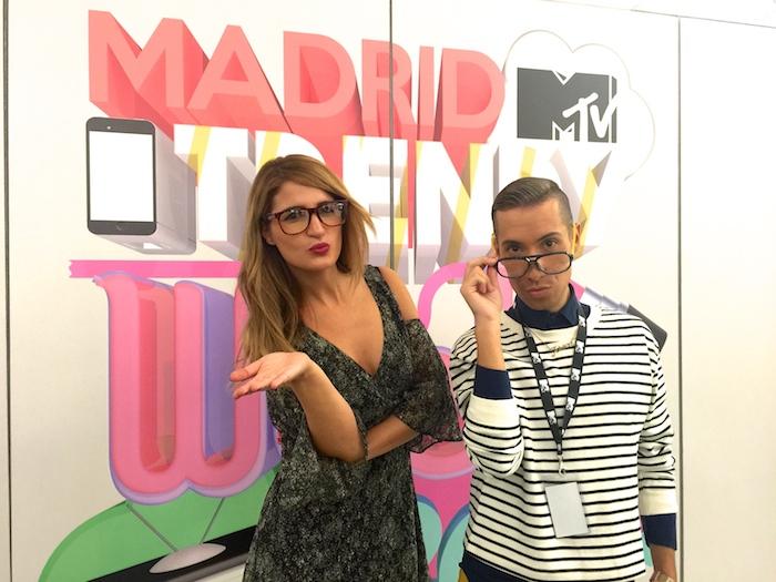 MadridMTVTrendyWeek2015 #mtvLaVaguada #mtvspain Amarás la moda Paula Fraile Talleres MTV6