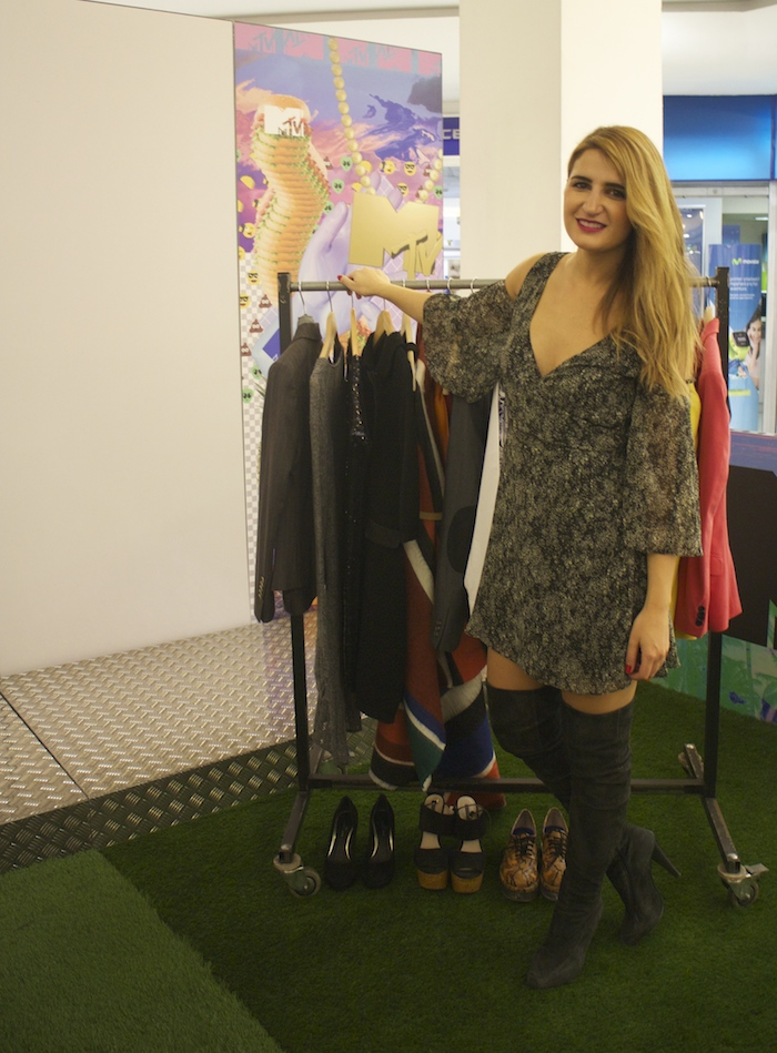 MadridMTVTrendyWeek2015 #mtvLaVaguada #mtvspain Amarás la moda Paula Fraile Talleres MTV8
