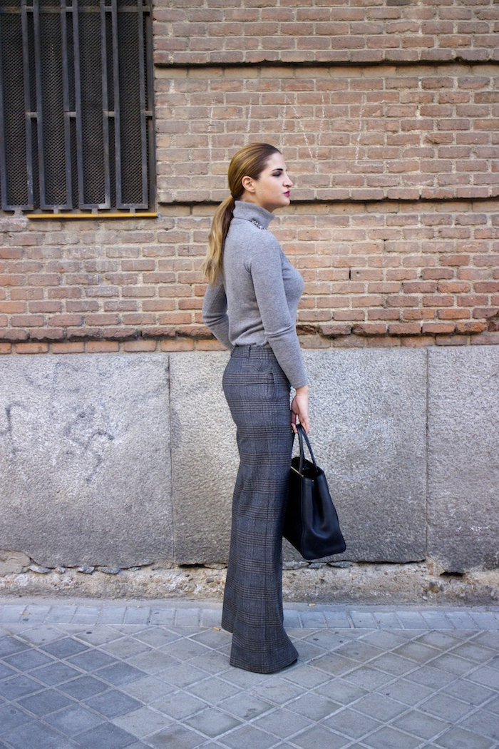 Marc Maddox watch Zara pants Carolina Herrera sweater Fendi bag amaras la moda Paula Fraile7