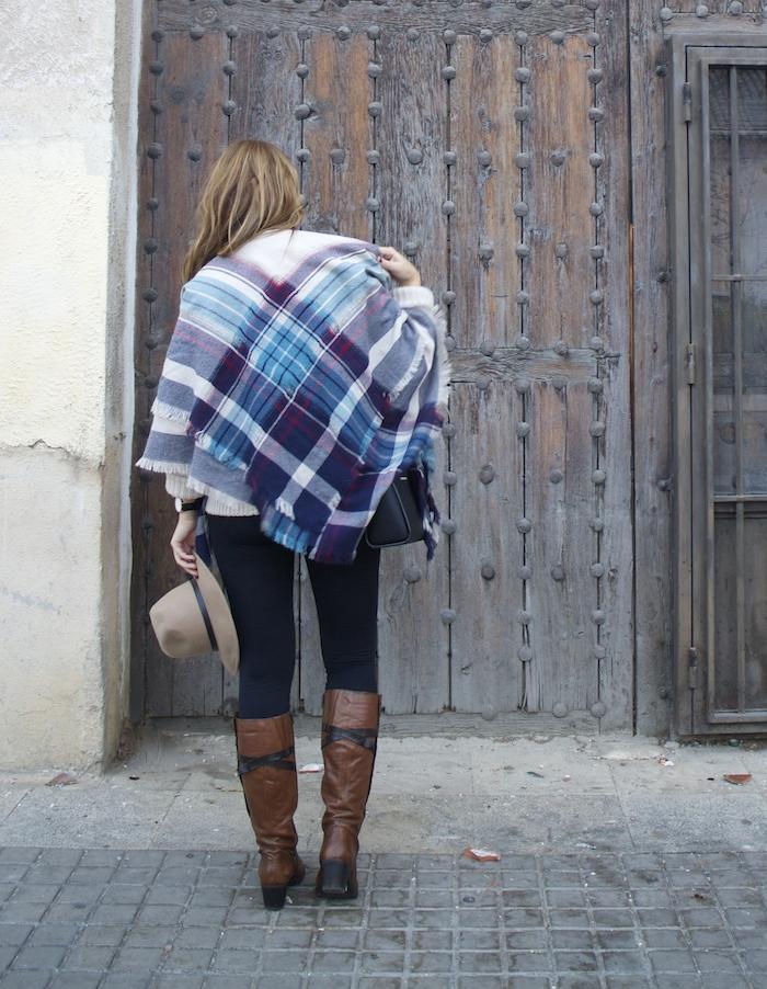 jersey La Redoute mallas calzedonia botas clarks foulard oysho amaras la moda Paula Fraile.10