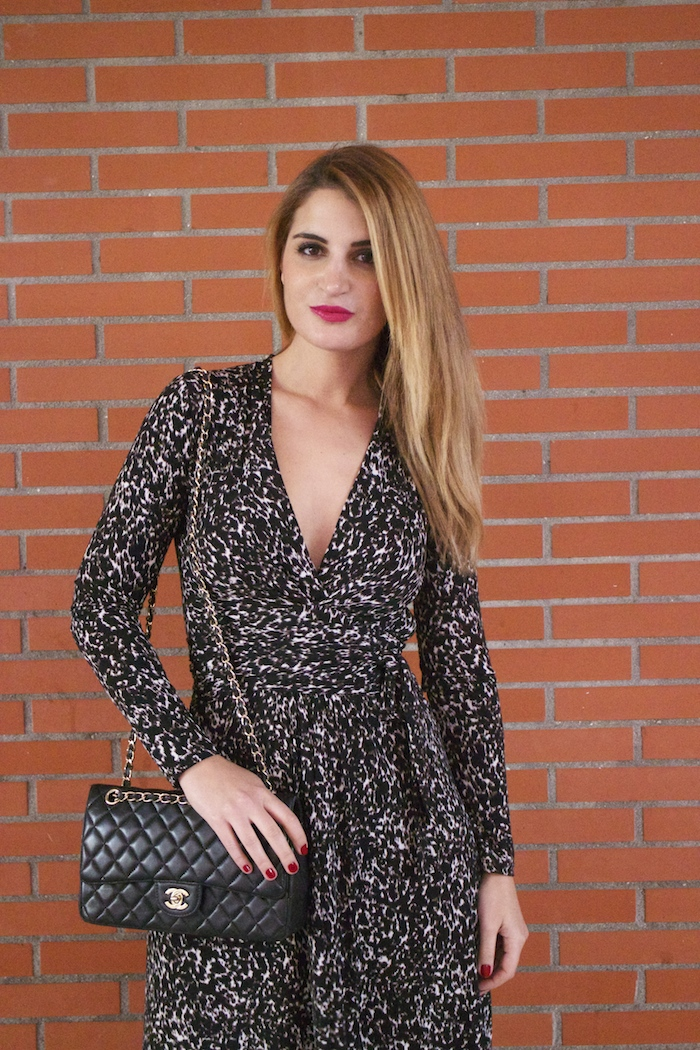 michael kors animal print dress amaras la moda chanel bag over the knee boots Pilar Burgos Paula Fraile7