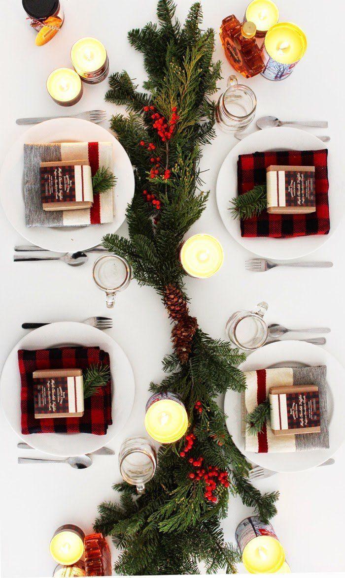 livingo decoración centros de mesa navidad amaras la moda15