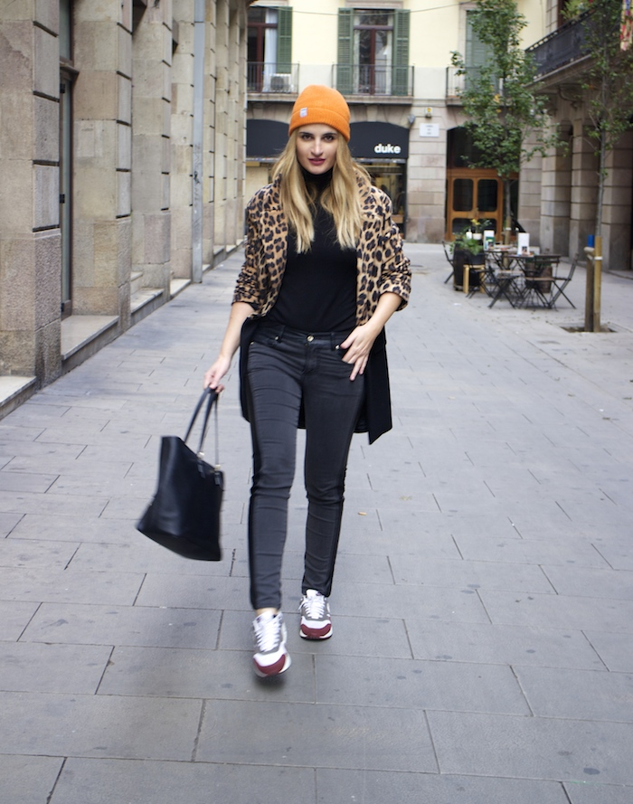 verace jeans zara coat pull and bear bonnet amaras la moda paula fraile
