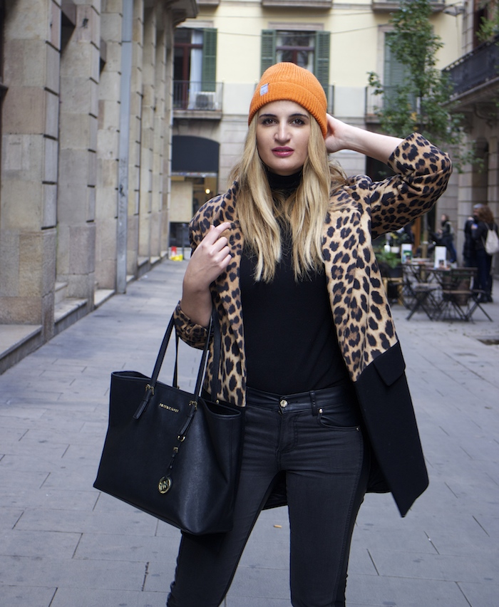 verace jeans zara coat pull and bear bonnet amaras la moda paula fraile4