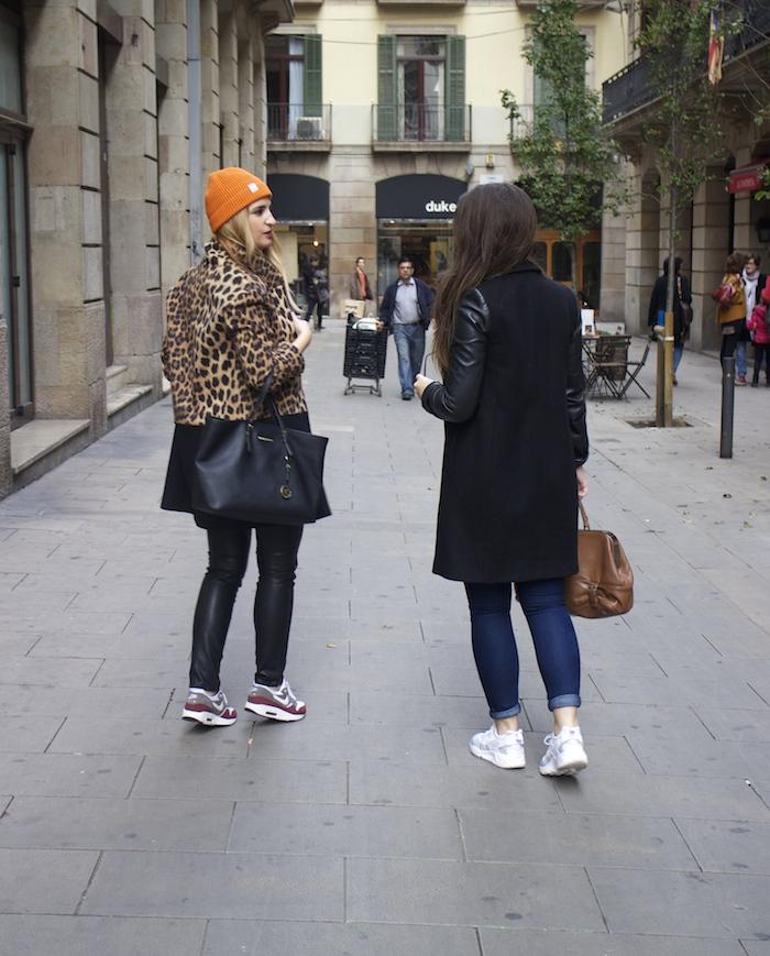 verace jeans zara coat pull and bear bonnet amaras la moda paula fraile7