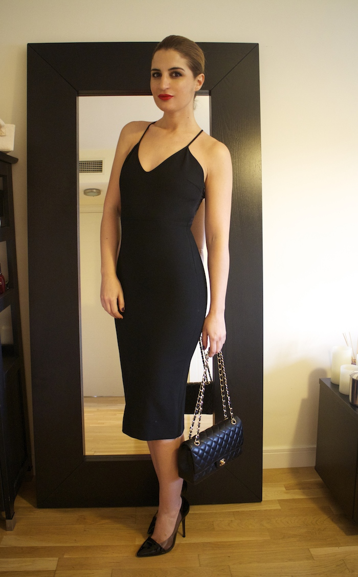 little black dress zara amaras la moda Paula Fraile.3
