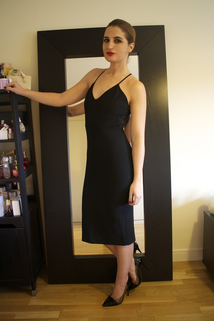 little black dress zara amaras la moda Paula Fraile.6