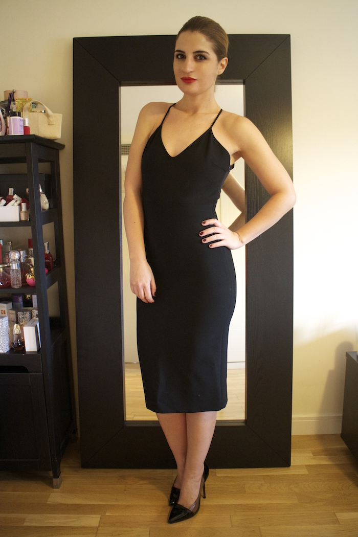 little black dress zara amaras la moda Paula Fraile.8