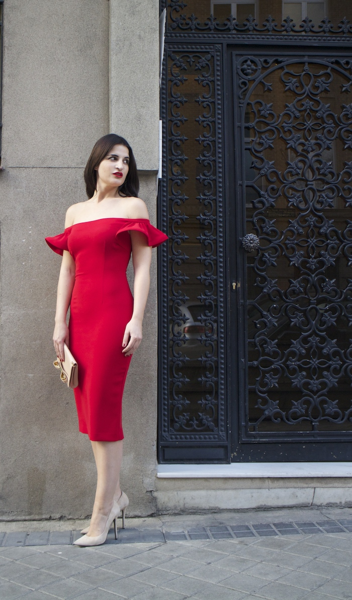 etxart and panno amaras la moda Paula Fraile ted baker chloe borel stilettos fashion blogger brunette girl6