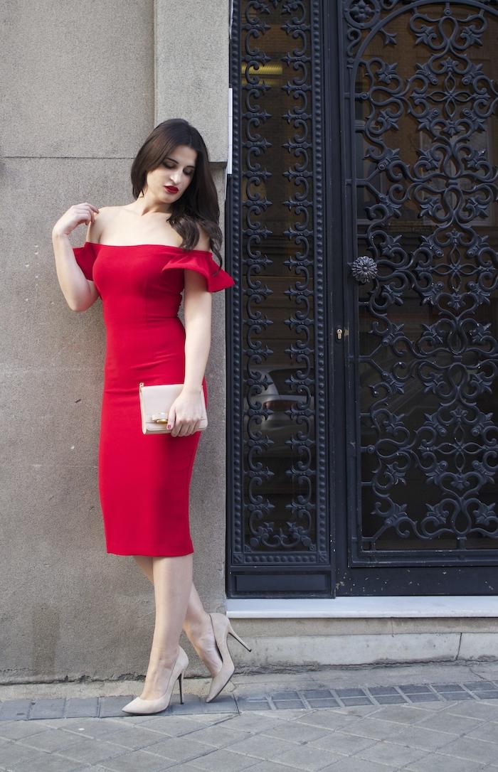 etxart and panno amaras la moda Paula Fraile ted baker chloe borel stilettos fashion blogger brunette girl7