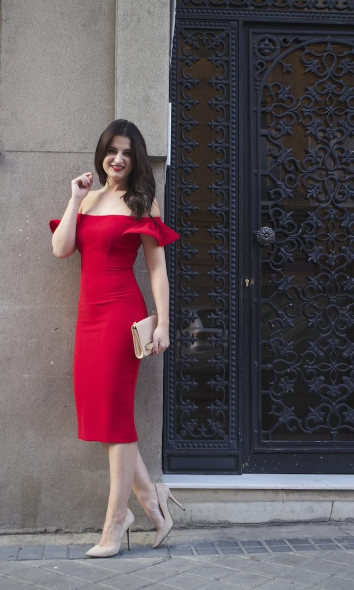 etxart and panno amaras la moda Paula Fraile ted baker chloe borel stilettos fashion blogger brunette girl8