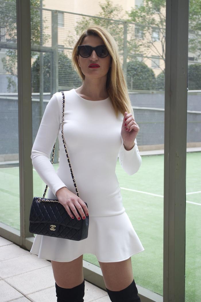 etxart and panno dress coat chanel bag Paula Fraile amaras la moda fashion blogger10