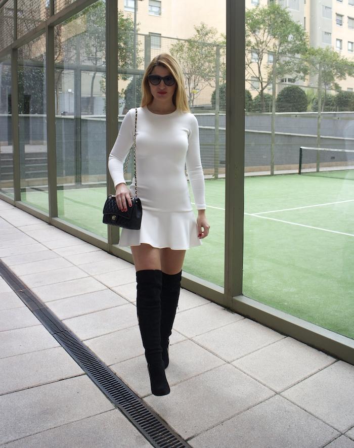 etxart and panno dress coat chanel bag Paula Fraile amaras la moda fashion blogger7