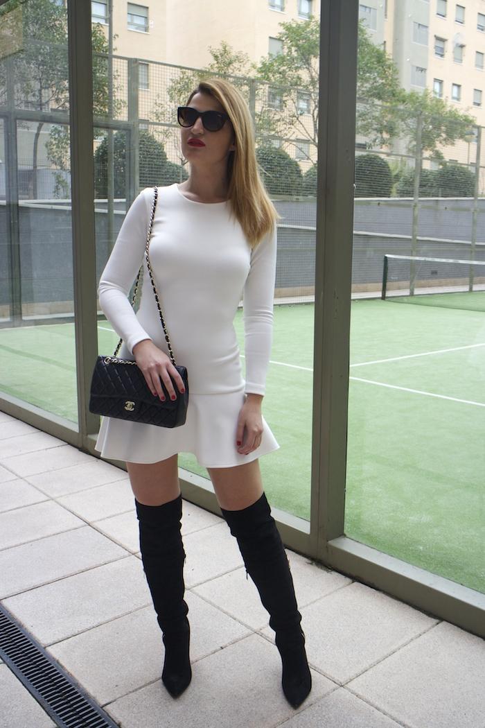 etxart and panno dress coat chanel bag Paula Fraile amaras la moda fashion blogger9