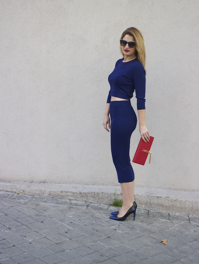 etxart and panno top and skirt Yves saint laurent bag amaras la moda Paula Fraile Fashion blogger4