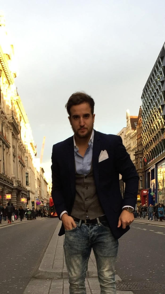 pablo mendez amaras la moda Paula Fraile Massimo dutti topman Zara London2
