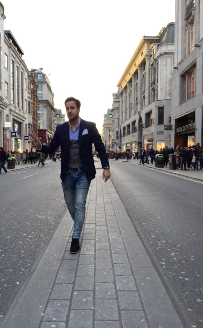pablo mendez amaras la moda Paula Fraile Massimo dutti topman Zara London3