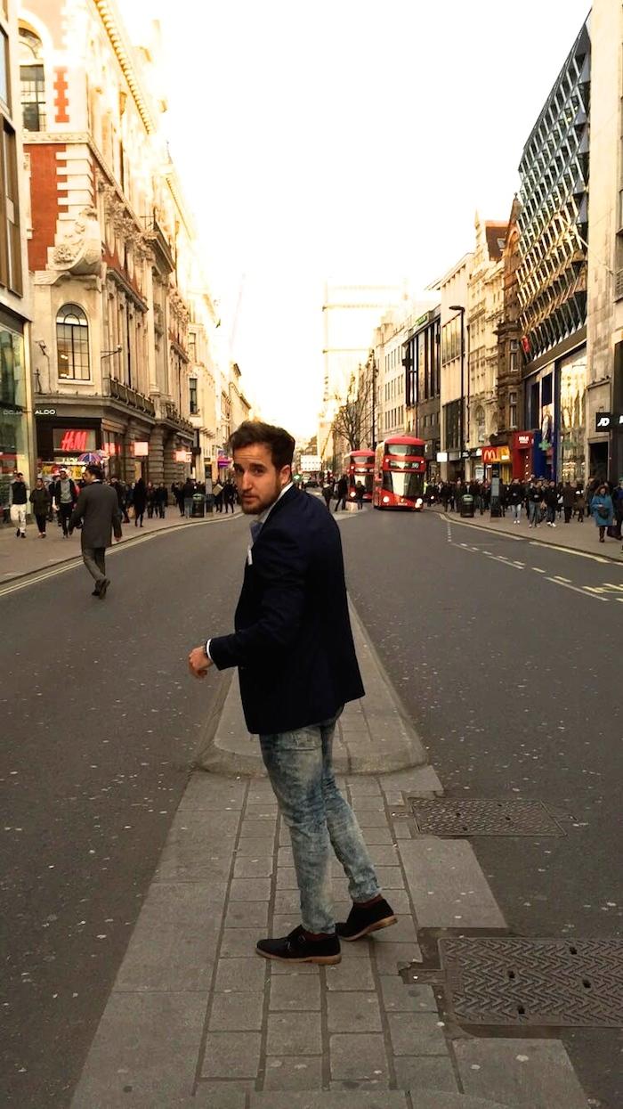 pablo mendez amaras la moda Paula Fraile Massimo dutti topman Zara London4
