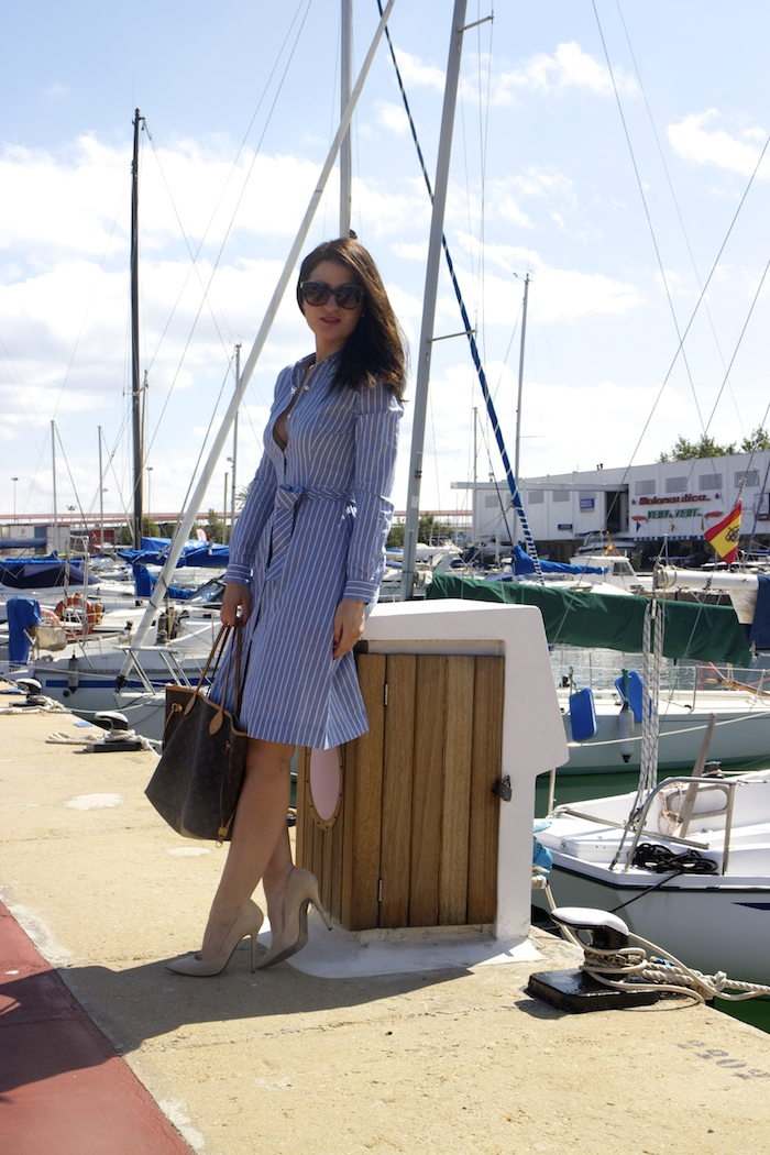 la redoute dress louis vuitton bag amaras la moda chloe borel shoes paula fraile.3