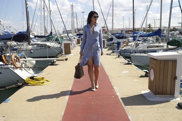 la redoute dress louis vuitton bag amaras la moda chloe borel shoes paula fraile.4jpg
