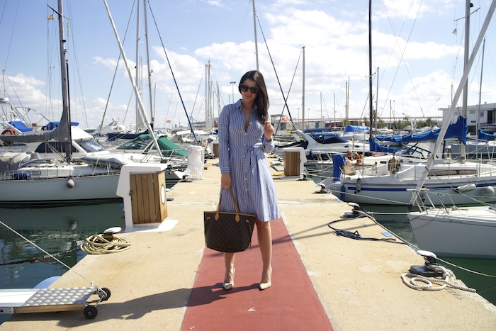 la redoute dress louis vuitton bag amaras la moda chloe borel shoes paula fraile.6