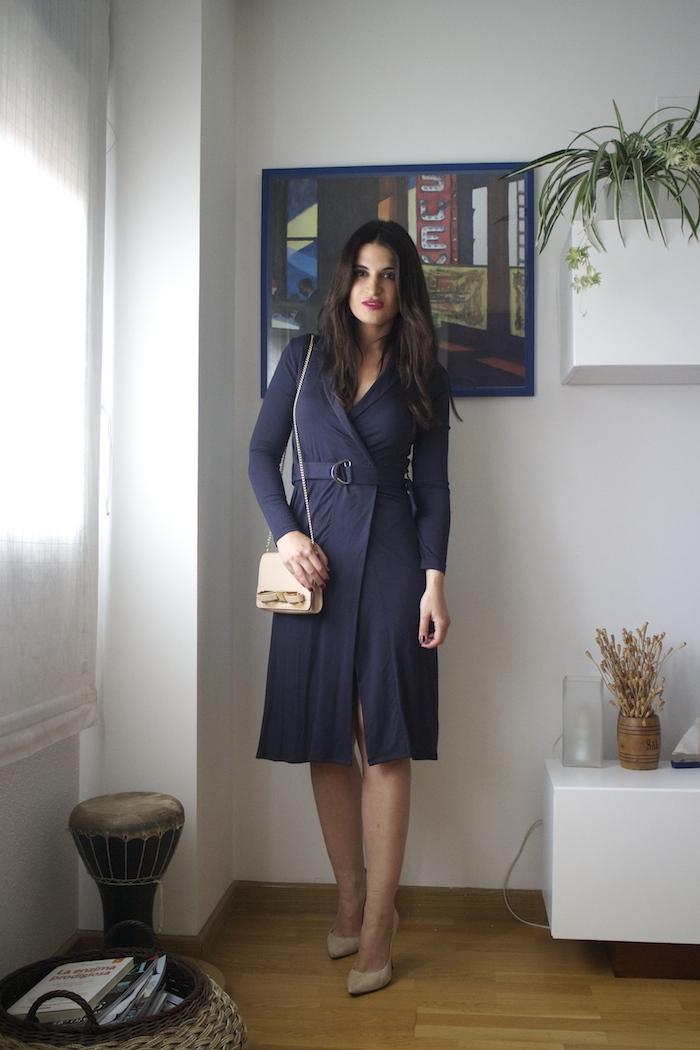 vestido La Redoute ted baker bag chloe borel stilettos amaras la moda paula fraile.4