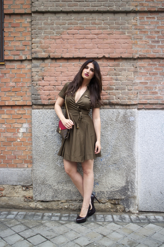 vestido michael kors paula fraile louis vuitton bag paula fraile amaras la moda6