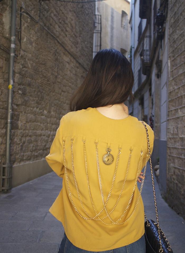 chaqueta reloj michael kors jeans chanel bag nike sneakers amaras la moda paula fraile6
