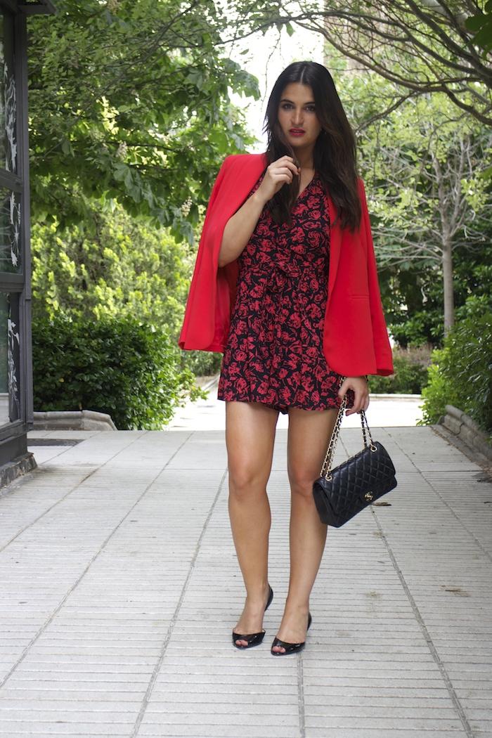 mono easy wear el corte inglés chaque roja tintoretto amarás la moda Paula Fraile Jimmy Choo shoes2