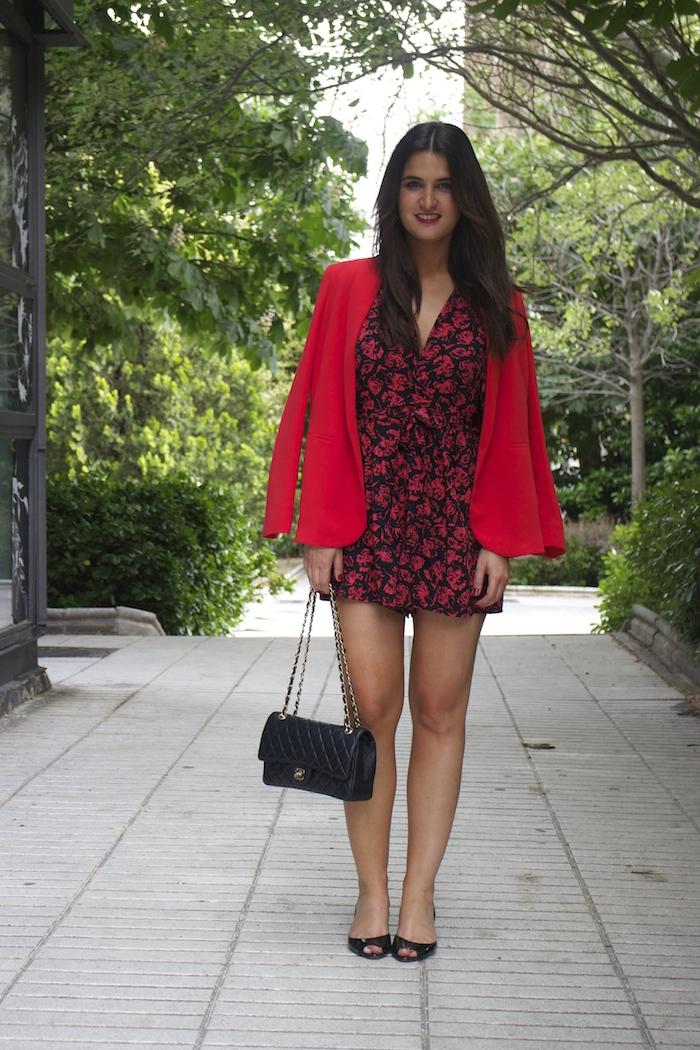 mono easy wear el corte inglés chaque roja tintoretto amarás la moda Paula Fraile Jimmy Choo shoes4
