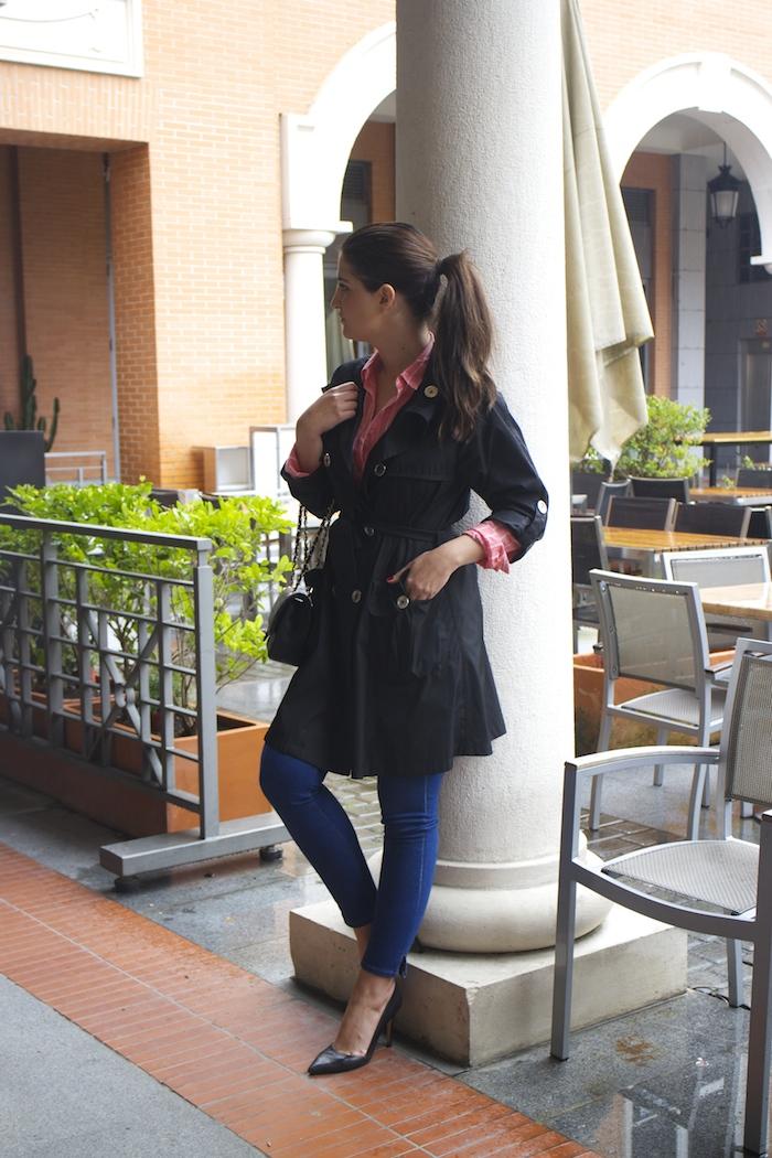 trench burberry Paula Fraile amaras la moda chanel bag
