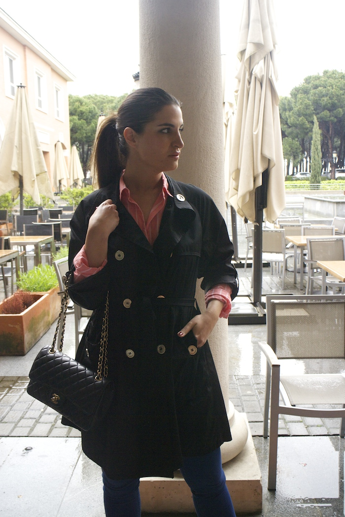 trench burberry Paula Fraile amaras la moda chanel bag4