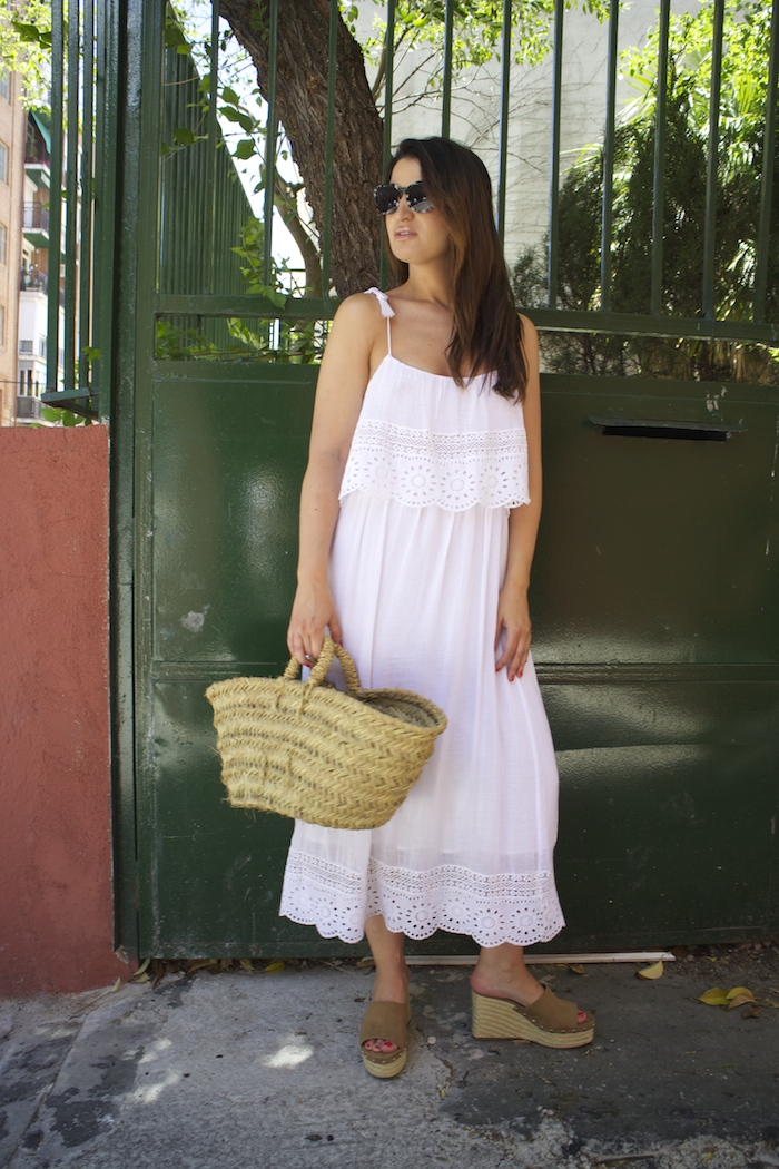 vestido ibicenco amaras la moda zuecos esparto paula fraile summer8