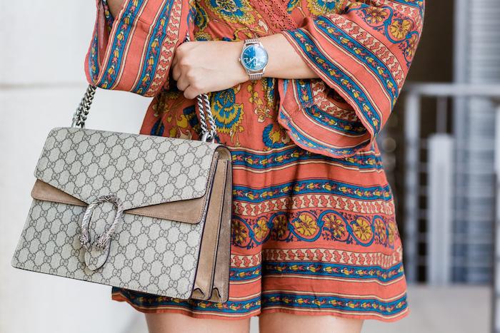 Henry London watch Brand Embassador zara gucci bag gucci sandals paula fraile amaras la moda11
