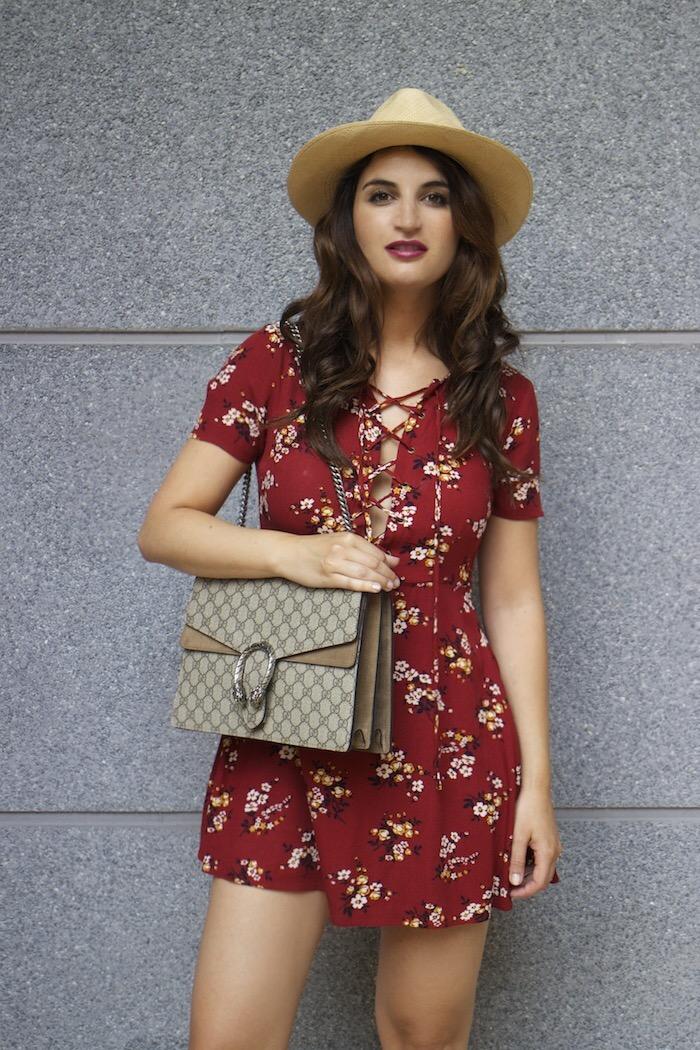 vestido forever 21 bolso gucci Dyonisus bag amaras la moda paula fraile 15