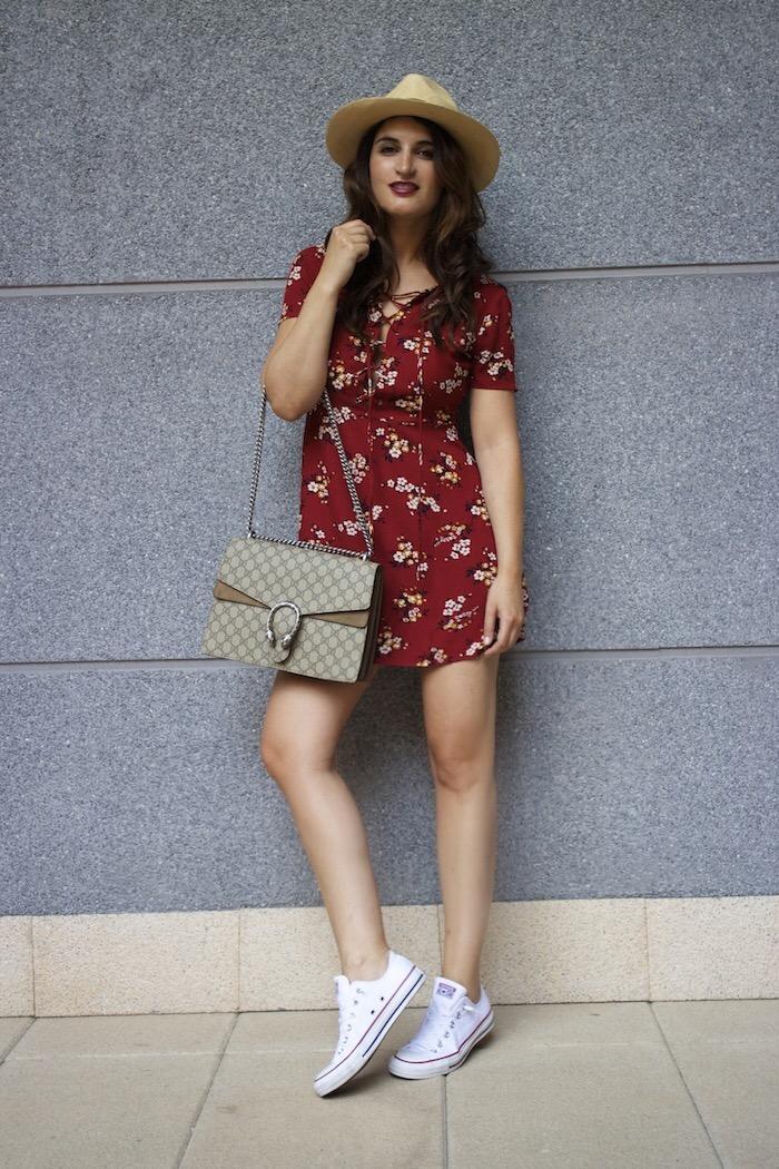 vestido forever 21 bolso gucci Dyonisus bag amaras la moda paula fraile 16