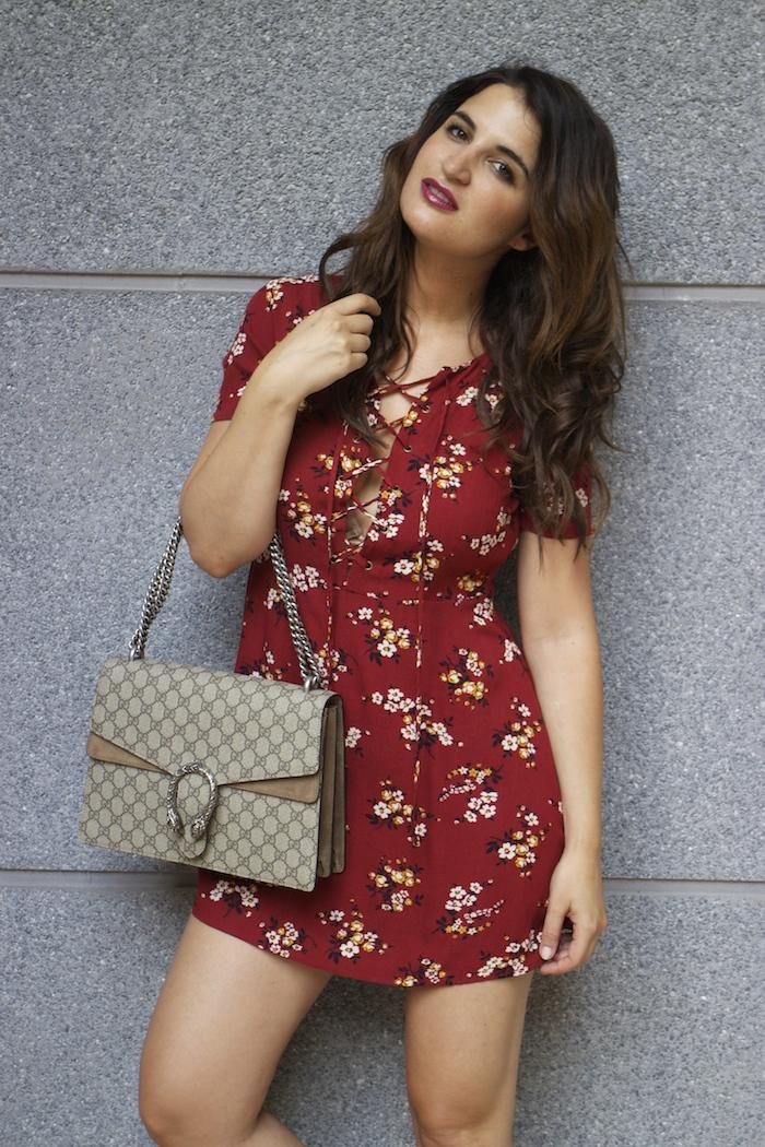 vestido forever 21 bolso gucci Dyonisus bag amaras la moda paula fraile 4