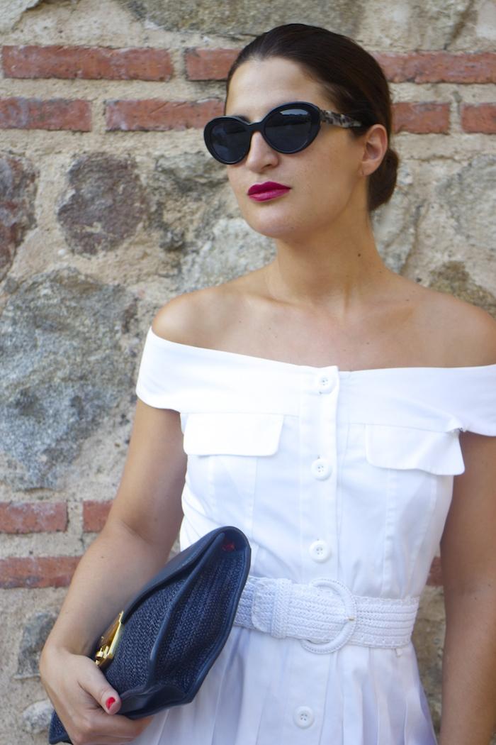 cinturón dolce and gabbana Paula Fraile cuñas Cucci bolso Marc Jacobs gafas prada amaras la moda10
