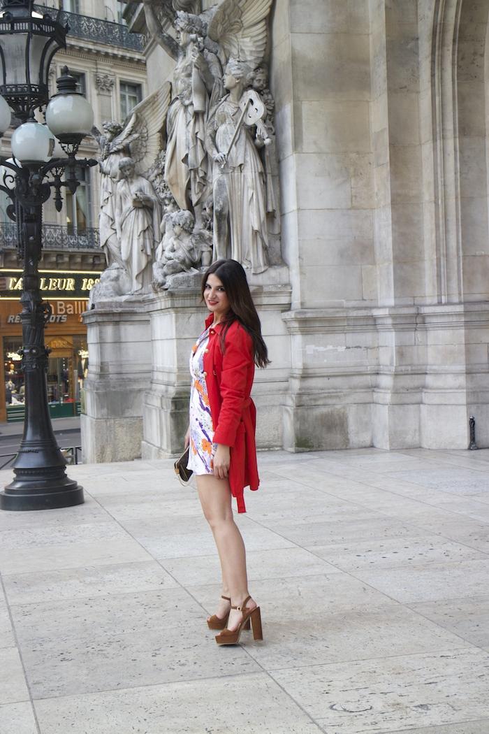 embajadora La Redoute Paula Fraile viaje a Paris10