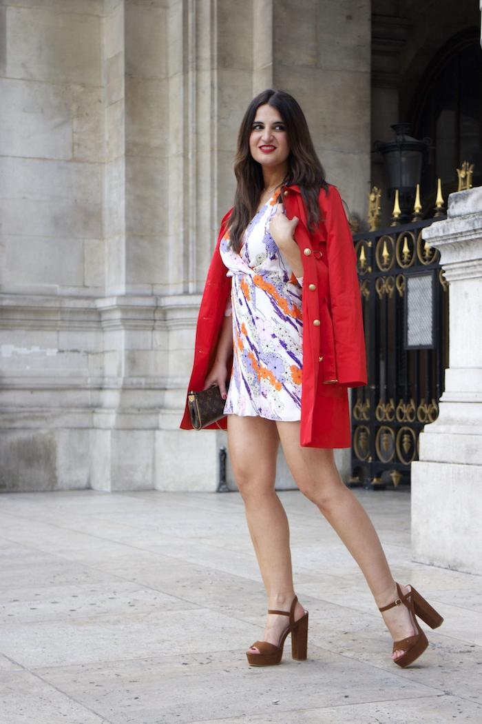 embajadora La Redoute Paula Fraile viaje a Paris13
