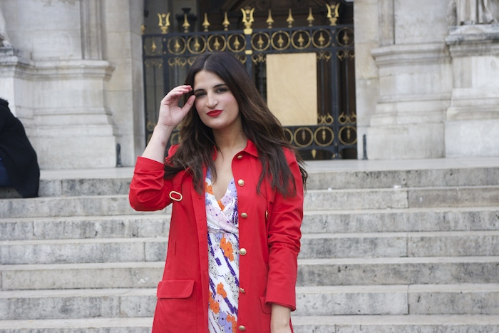 embajadora La Redoute Paula Fraile viaje a Paris14