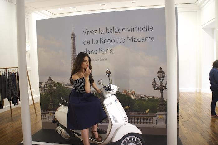 embajadora La Redoute Paula Fraile viaje a Paris4