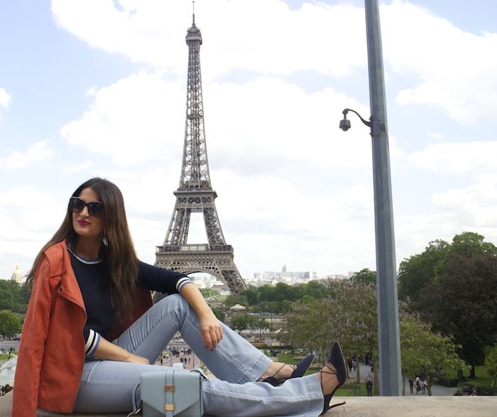 embajadora La Redoute Paula Fraile viaje a Paris5