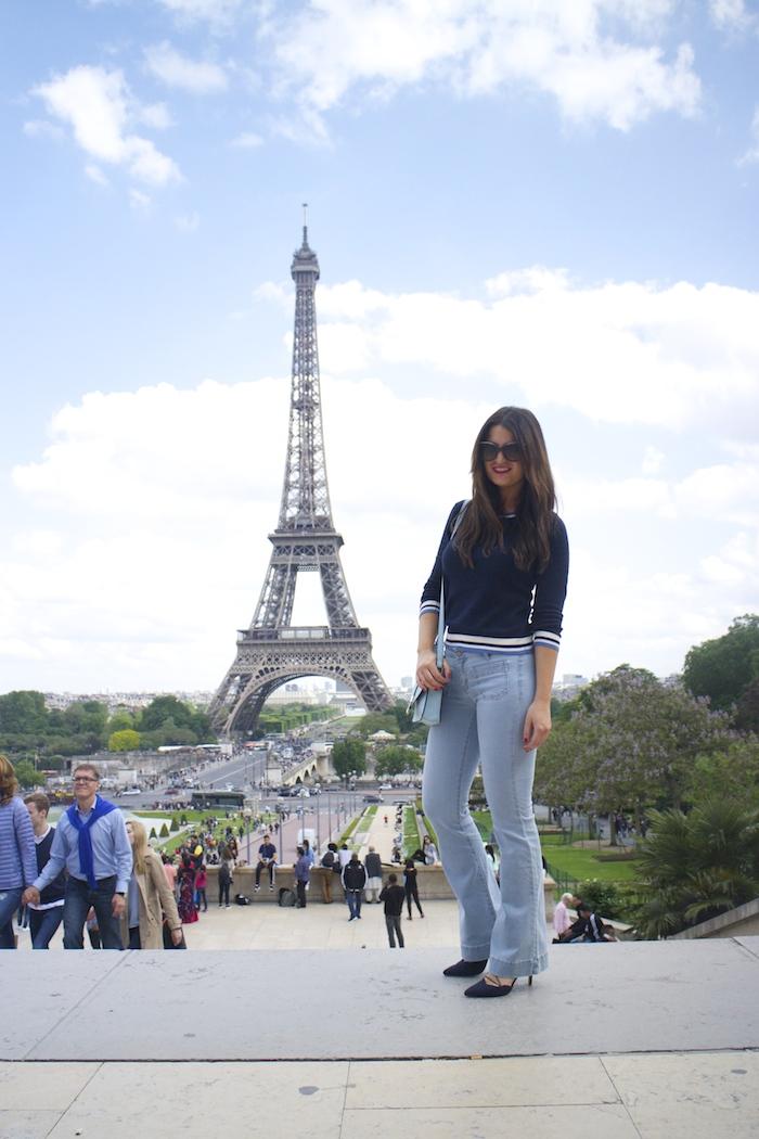 embajadora La Redoute Paula Fraile viaje a Paris7