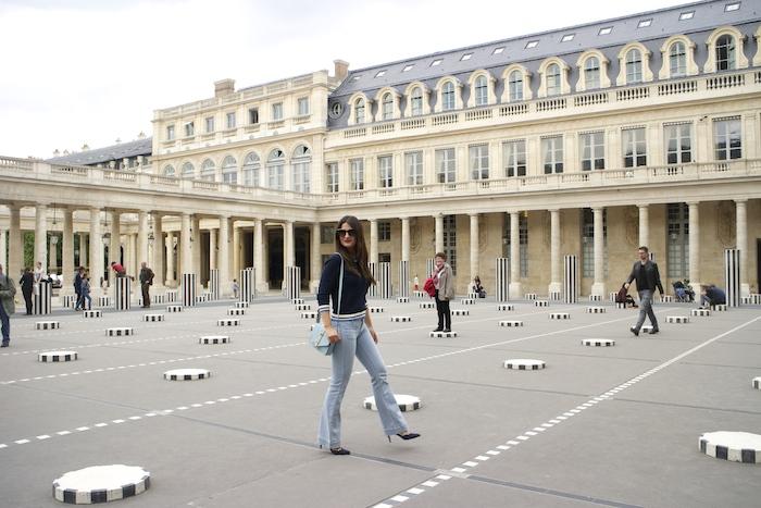 embajadora La Redoute Paula Fraile viaje a Paris8