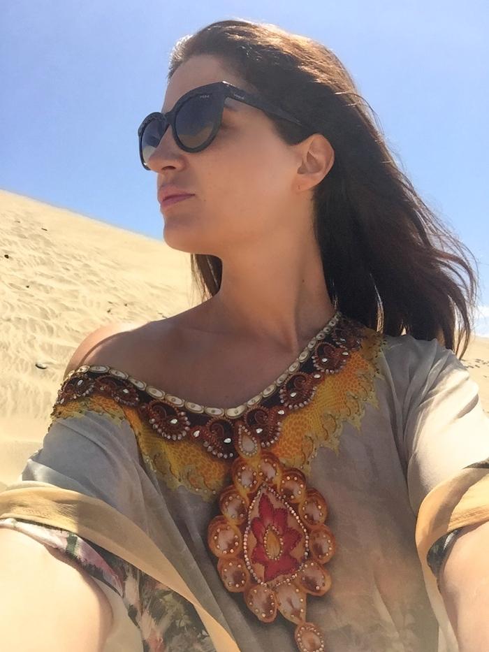 túnica Toshkhana amaras la moda Paula Fraile Gran Canaria Maspalomas