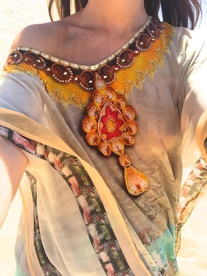 túnica Toshkhana amaras la moda Paula Fraile Gran Canaria Maspalomas7