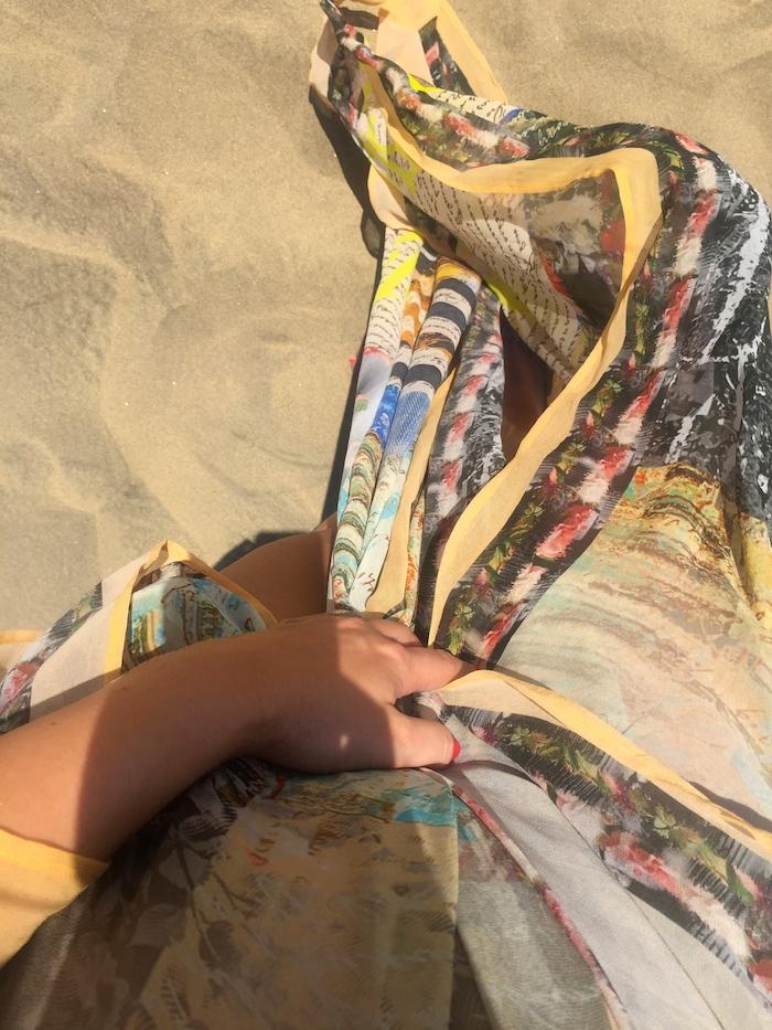 túnica Toshkhana amaras la moda Paula Fraile Gran Canaria Maspalomas8